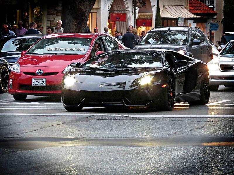 Lamborghini Aventador spotted in Carmel, CA