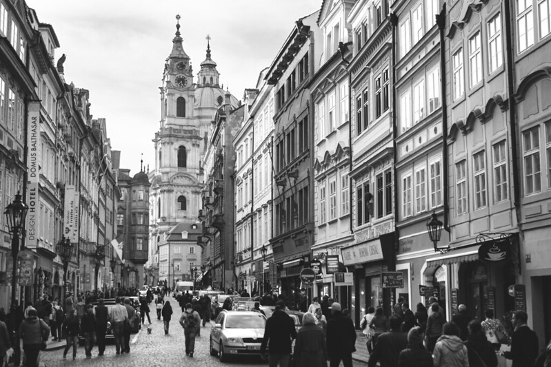 Mala Strana, Praga.
