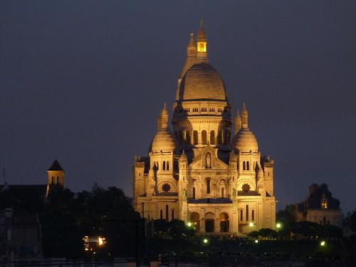 Sacre Coeur Illuminated
