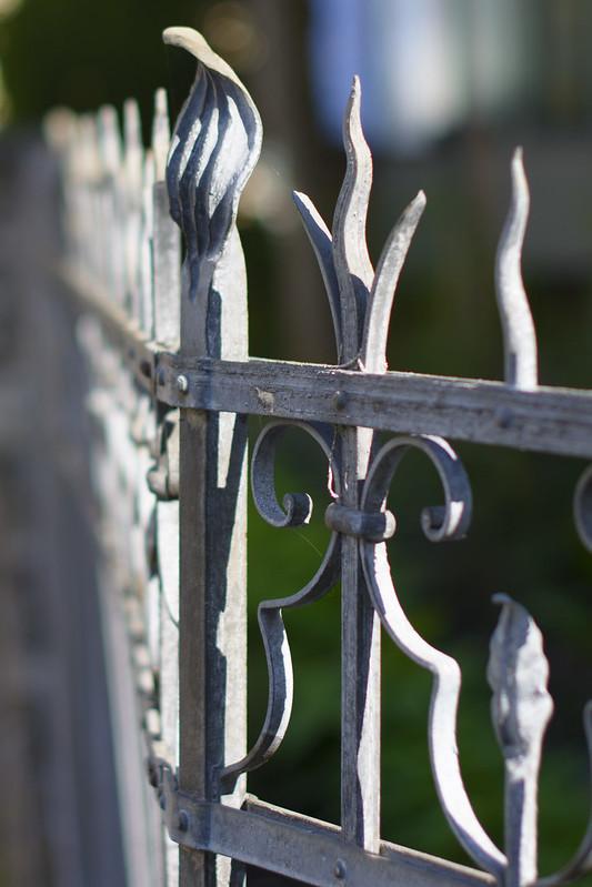 Fence in Mäderstrasse