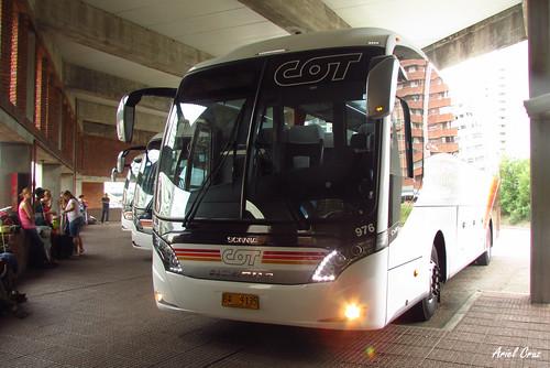 Cot en Terminal Punta del Este | Neobus New Road N10 - Scania / B9135