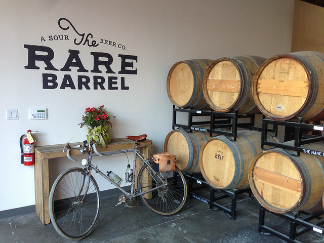 Rare Barrel and all-sour beer brewery in Berkeley