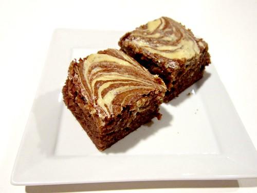 Irish Cream Cheesecake Swirl Brownies