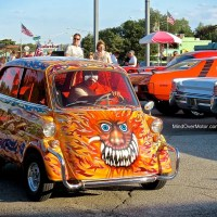 Woodward Dream Cruise: BMW Isetta 600 V8 Hot Rod