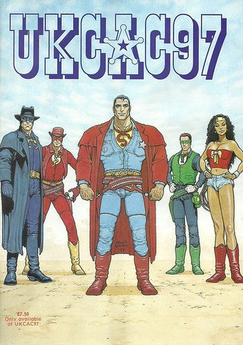 Wild West Justice League by roborange