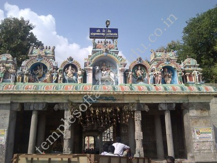 Thiruvalangadu Temple Entrance