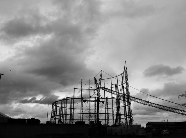 Edmonton gas holder