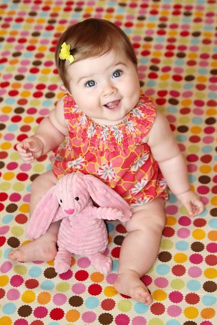 Harper at 8 months