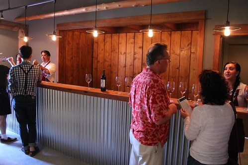 The new tasting room at Township 7