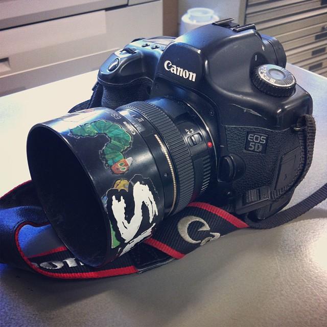 My camera eos5d