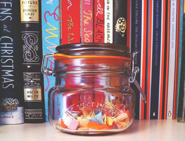 Imagini pentru book jar ideas