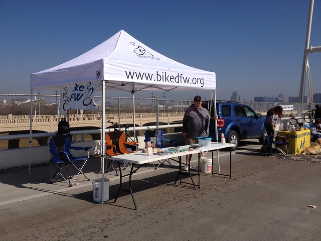 BikeDFW Tent