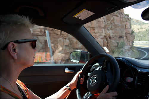 driving Mingus Mountain