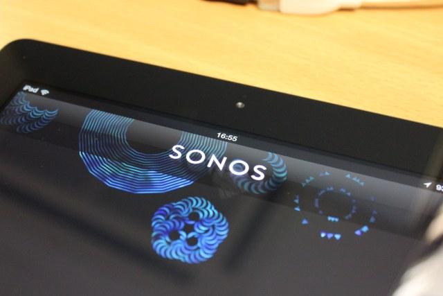 Sonos on an iPad