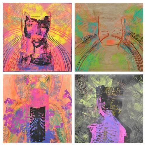 Spirit Animal paintings