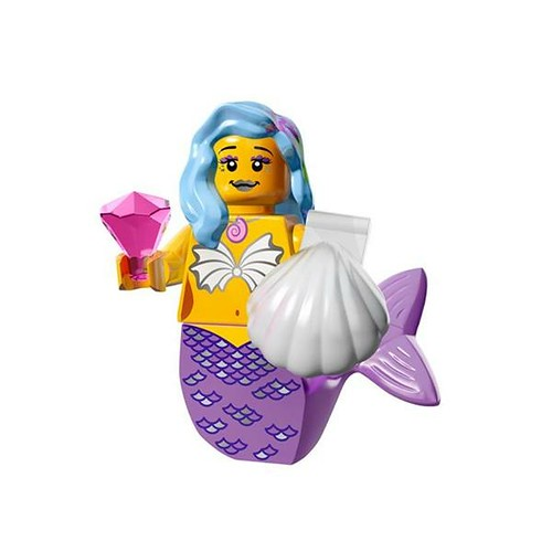 The LEGO Movie Minifigures Marsha Queen of the Mermaids