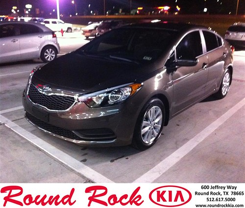 Thank you to Debra Hobbs on your new car from Amir Mahboubi and everyone at Round Rock Kia! #LoveMyNewCar by RoundRockKia