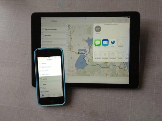Dropbox iOS 7