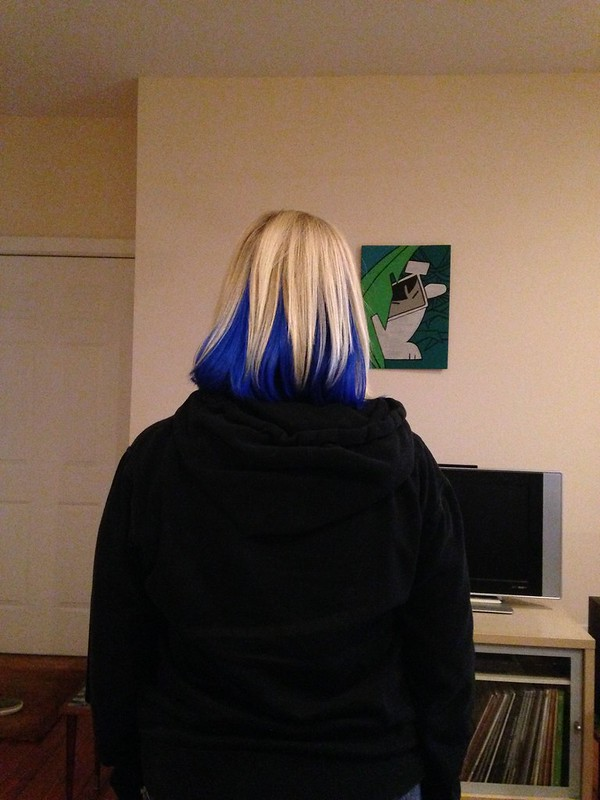 What Stuff Do I Use On My Newly Blue Hair Dye Ask