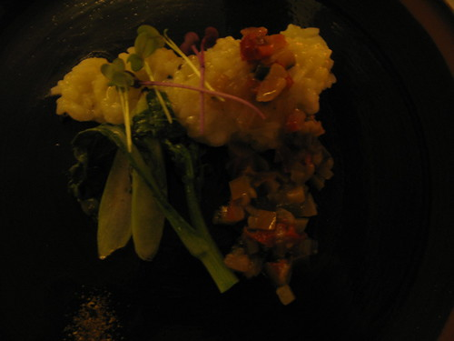 truffle & potate risotto