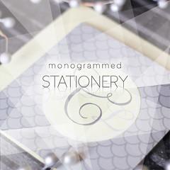 monogrammed stationery