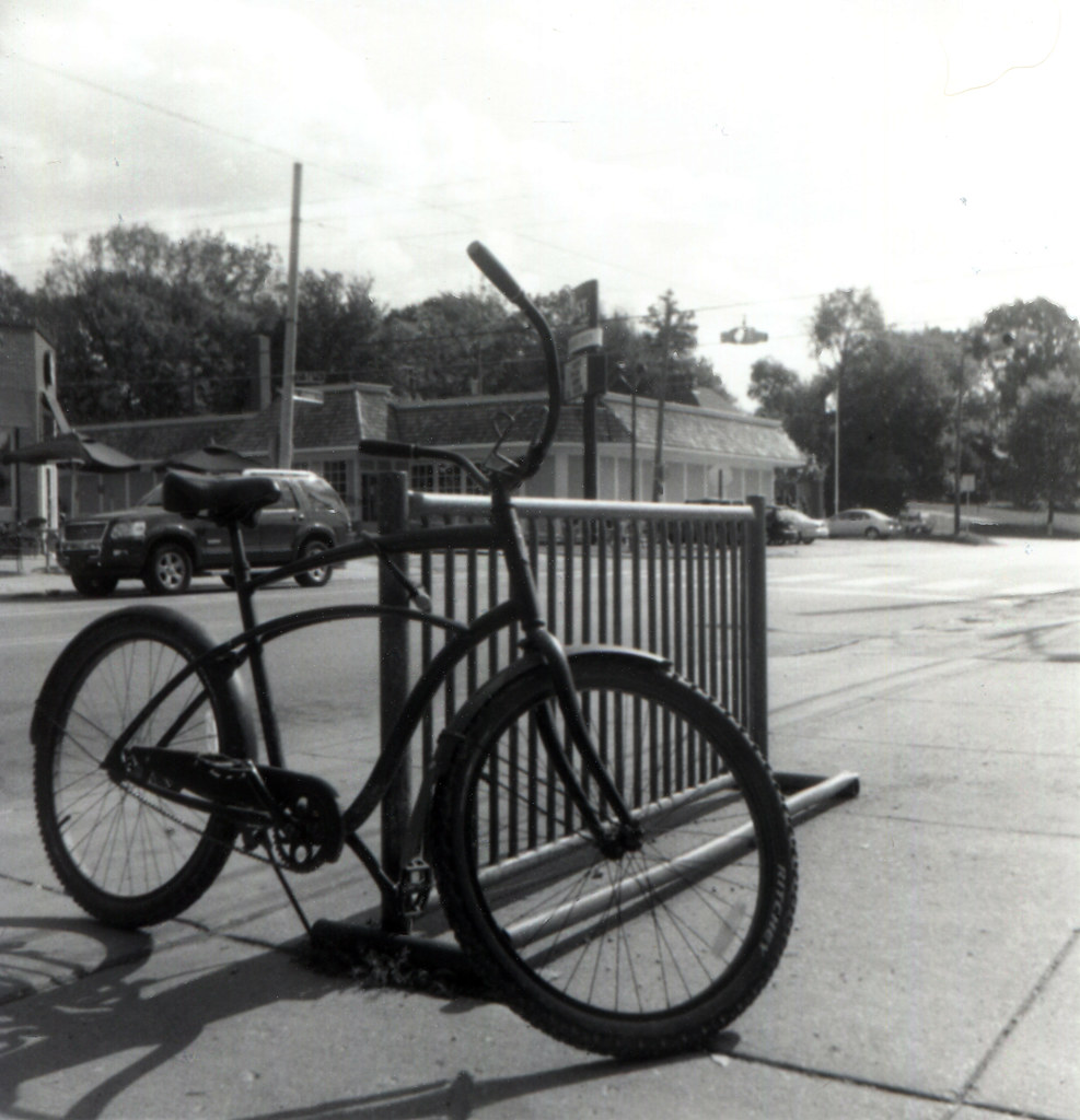 Bicycle locked