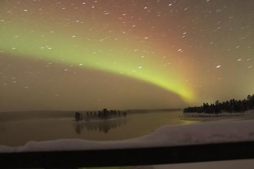 Aurora Borealis Russian Border