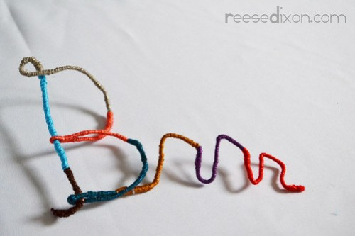 Wrapped Pipe Cleaner Words