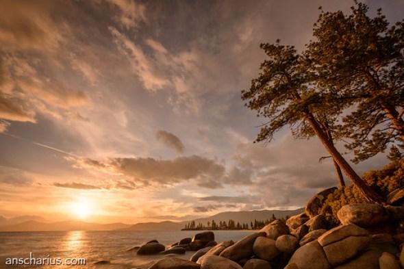 Tahoe Sunset #1 - Nikon D800E & AF-S VR 4/16-35mm