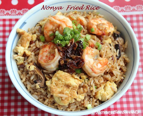 Nyonya Fried Rice Bee Bee