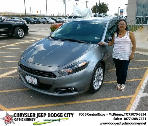 Thank you to David Long on your new 2013 Dodge Dart from David Walls and everyone at Dodge City of McKinney! by Dodge City McKinney Texas
