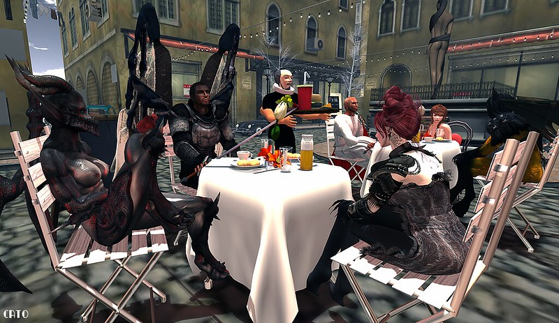 Behind the scenes of Paradise Lost: Meet and Greet with lunch! - IV