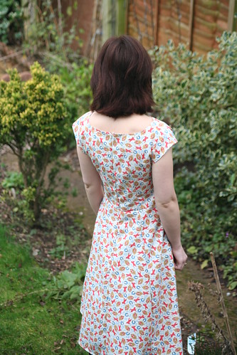 By Hand London Anna Dress in Horse Print