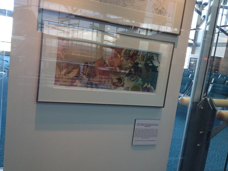 CWILL BC artwork at YVR