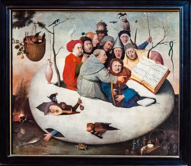 Concert Dans L'oeuf, Hieronymous Bosch, Lille, France, Le Palais Des Beaux Arts