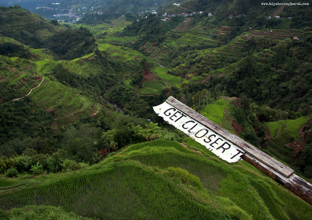 Get CLoser to Banaue RIce Terraces