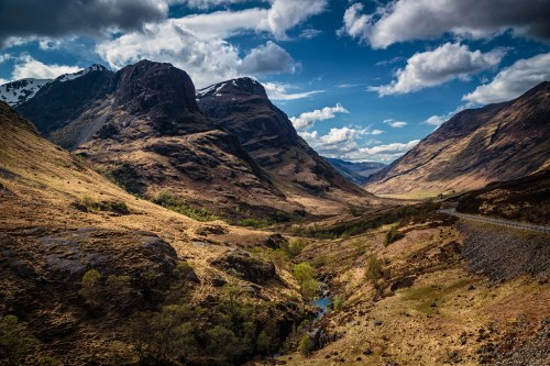Montains in Glencoe