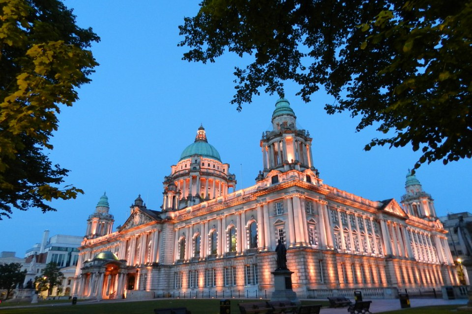 Ayuntamiento Belfast Ulster Irlanda del Norte 09