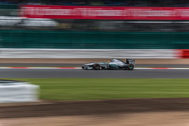 Silverstone - Hamilton FP2