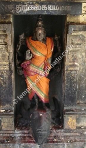 Durgai Amman, Lalithambigai Temple, Thirumeyachur