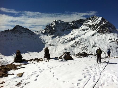 Abstieg kurz vor Rieserfernerhütte