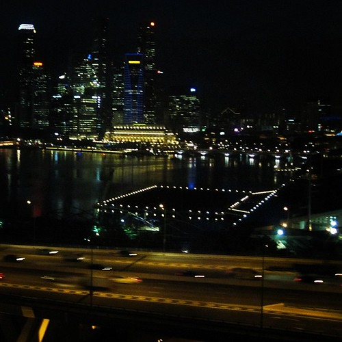 View from the #singaporeflyer #singapore by @MySoDotCom