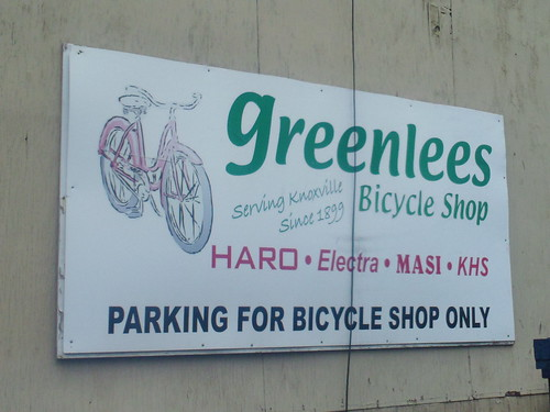 Greenlee's sign