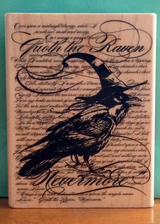 Background Stamp - The Raven