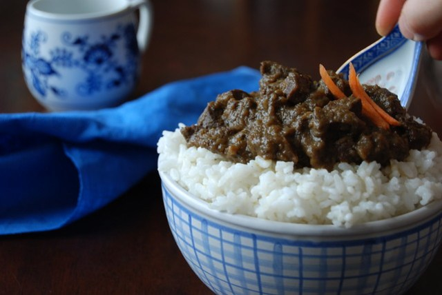 Sweet Beef Heart Curry