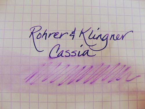 Rohrer & Klingner Cassia Water Test