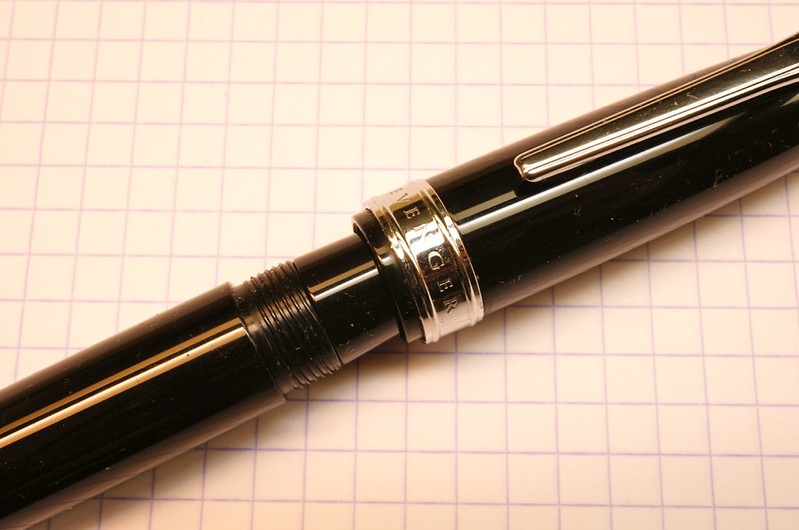 Unable to fully cap the TrueWriter with TWSBI nib