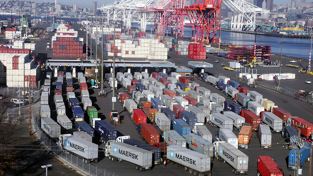 Drayage at the Port of Seattle