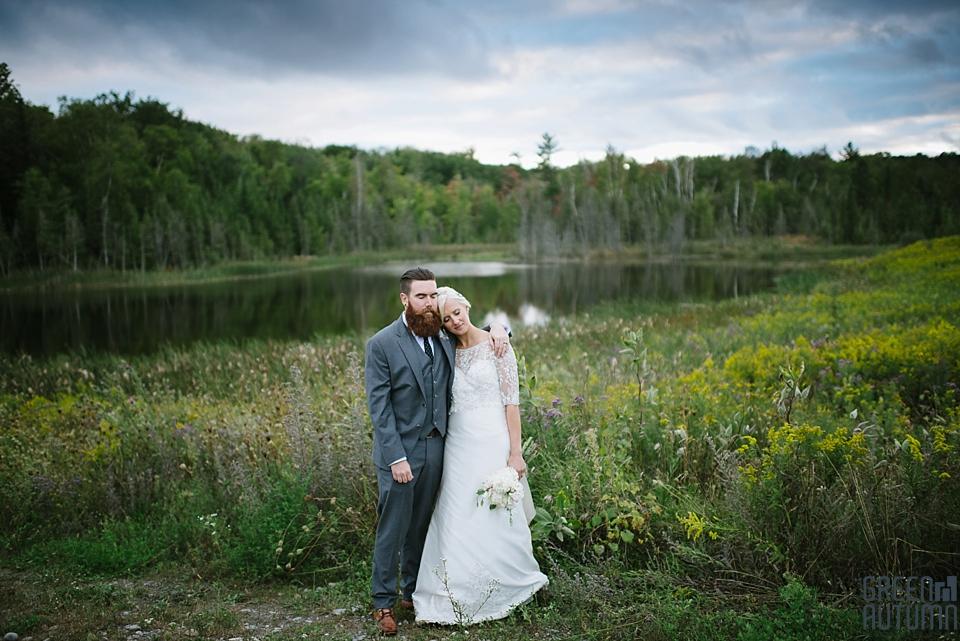 Autumn South Pond Farms Wedding Photography 0063
