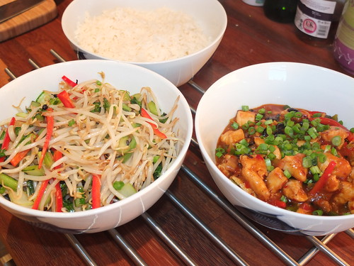 Chinese food influenced by Fuchsia Dunlop by La belle dame sans souci